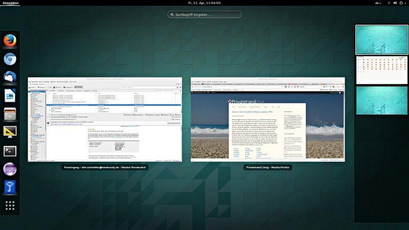 Ubuntu 14.04 mit Gnome Shell statt Unity