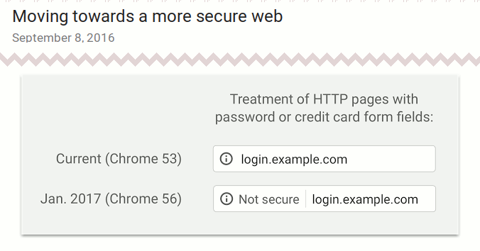 Screenshot aus Googles Security Blog