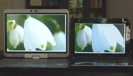 HP2710p und Eee-PC