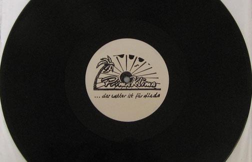 Muster der Debüt-LP von Prima Klima - Das Wetter ist für alle da