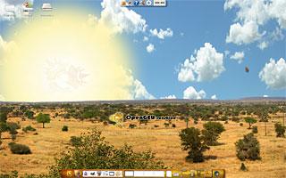 OpenGEU Sunshine Theme